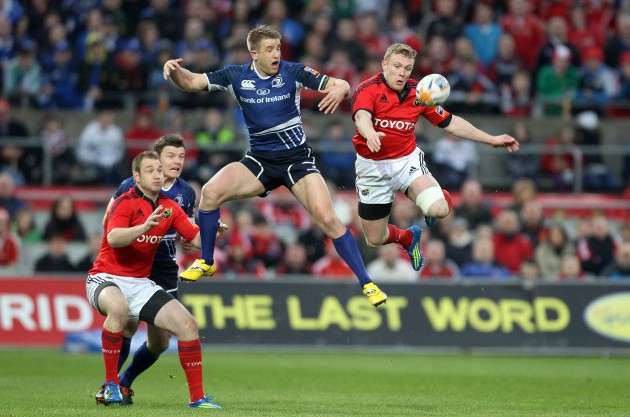 Keith Earls and Luke Fitzgerald 31/3/2012