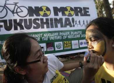 Protests took place across the world today calling for the decommissioning of nuclear reactors and weapons.