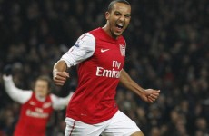 Red tide: Walcott hails Arsenal upturn