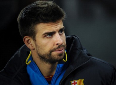Pique claims he's confident Guardiola will stay at the club.