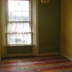 A bedroom in the house in Inchicore before Habitat for Humanity began their work.