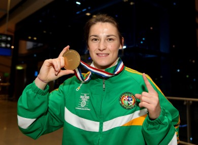 Katie Taylor will hope to add to her European and World championships at London 2012