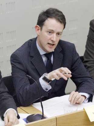 Junior minister Sean Sherlock had said he was not prepared to share a podium an event tomorrow with the organiser of the StopSOPAIreland.com petition.
