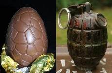 Toddler on Easter egg hunt finds hand grenade