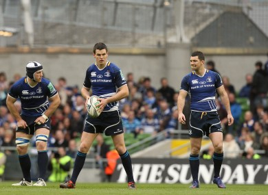Sean O'Brien, Jonathan Sexton and Rob Kearney will all start tomorrow for Leinster.