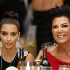 Kim Kardashian, left, and her mother Kris Jenner attend the White House Correspondents' Association Dinner. (AP Photo/Haraz N. Ghanbari)