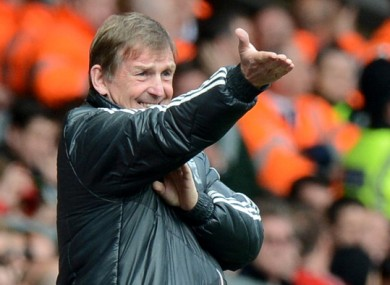 Kenny Dalglish: under pressure.