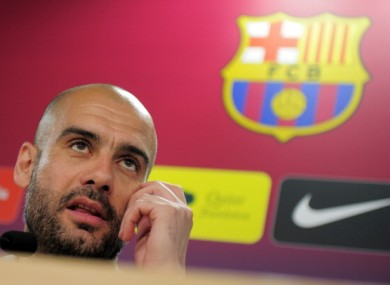 Pep Guardiola: Barcelona host arch-rivals Madrid at the Camp Nou.