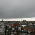 Clouds over Dublin North. Photo: Sam Boal/Photocall Ireland