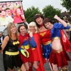Superwomen, Wonderwomen (and Batwoman) in 2007. Image: Albert Gonzalez / Photocall Ireland.