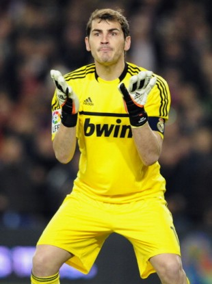 Confident: Real Madrid's goalkeeper Iker Casillas.