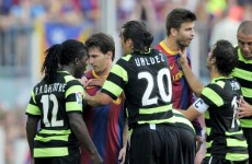 Drenthe accuses Lionel Messi of racial abuse