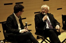 President Higgins celebrates Irish film in New York