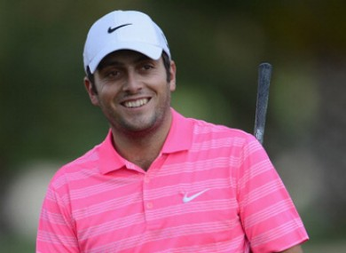 Molinari had plenty to smile about today.