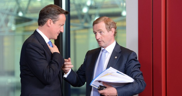Caption competition: What are Enda Kenny and David Cameron talking about?
