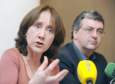 Patricia McKenna and Thomas Pringle are both seeking a referendum on the ESM treaty.