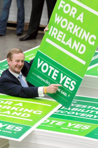 NO REPRO FEE 26.04.2012...An Taoiseach, Enda Kenny