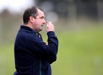 Seamus McEnaney has had to deal with a number of injuries ahead of Sunday's game.