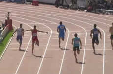 VIDEO: 100m runner breaks leg in Helsinki heat