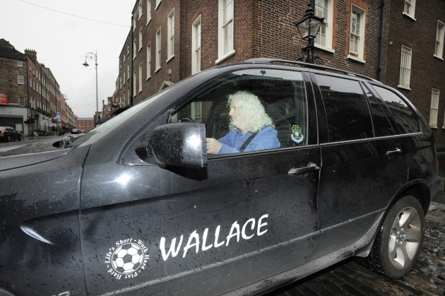 14/6/2012 Mick Wallace Dail Scenes