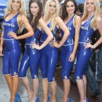 Bavaria's Bevvy (geddit?) of Babes: Nicola Hughes, Barbara Gergely, Ailise Smith, Sinead Noonan and Carolyn O'Reilly. 