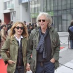 Bob Geldof with his partner arriving at Bord Gais Theatre in Dublin where Burmese activist Aung San Suu Kyi will be accepting the Amnesty International award. Photo: Sasko Lazarov /Photocall Ireland
