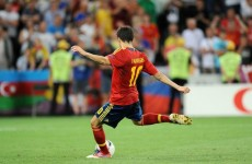 Report: Fabregas earns holders Spain a point from Italy