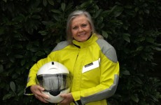 Grandmother begins 1,500 mile charity motorbike ride in Dublin