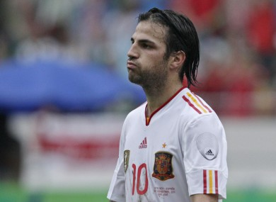Cesc Fabregas is sure that Spain can win a third international tournament in a row.