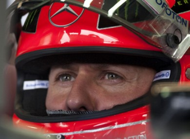 Michael Schumacher: decision soon.