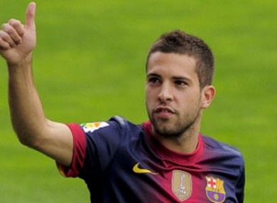 Alba has signed a contract until 2017.