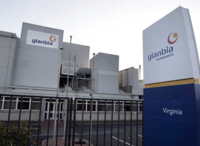 Glanbia Ingrediants LTD plant in Virginia, Co Cavan