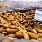 Almonds: The most nutritionally dense nut around, they have recently come back in vogue as a superfood and are said to prevent heart disease, diabetes and high cholesterol. (Nany Mata/Flickr)