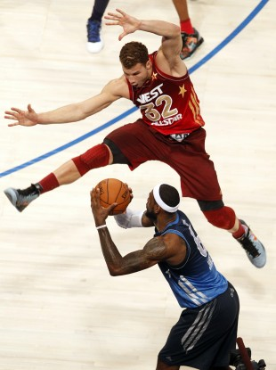 Opposing teammates in the All-Star game, Griffin and James will join forces for the USA.