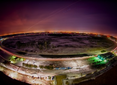 The Tevatron at Fermilab which produced about 10 million proton-antiproton collisions per second