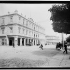 1900: Hotel Inglaterra in Havana, which is still welcoming guests today. (Library of Congress, Prints & Photographs Division)