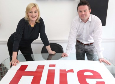 Lucy Masterson, co-founder of Hireland with Stephen Reddin, who found a job through the initiative