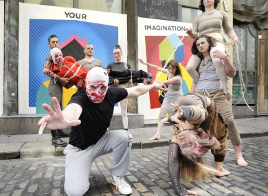 e Rubberbandits help announce this year's 16 day festival programme