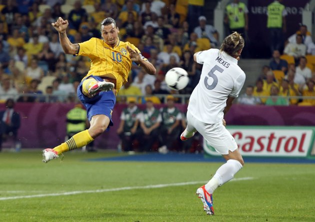 Soccer Euro 2012 Sweden France