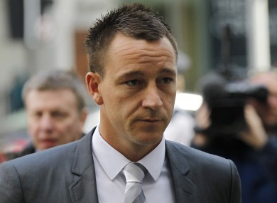 Terry enters court today.