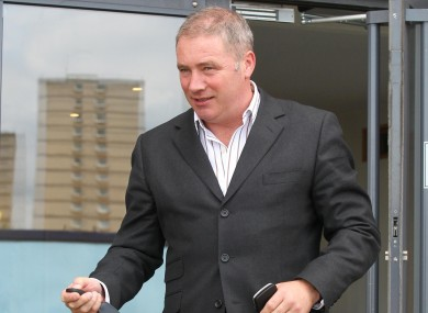 Ally McCoist's side will be allowed to buy any players for 12 months.
