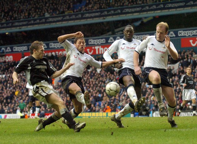Soccer - FA Barclaycard Premiership - Tottenham Hotspur v Newcastle United