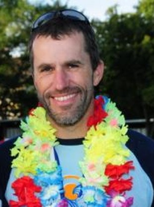 Paraic Casey, 45, who died while attempting to swim the English Channel yesterday.
