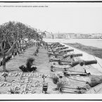 Pastoda Battery, between Cabanas and El Morro, circa 1904. (Library of Congress, Prints & Photographs Division)