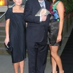 Ahern published his autobiography in 2009. Here he is with his daughters Cecilia and Georgina. 
