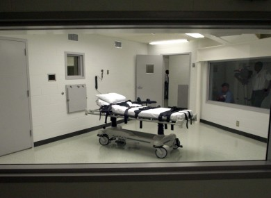 Alabama's lethal injection chamber at Holman Correctional Facility in Atmore (File image)