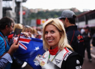 Maria de Villota: has returned to Spain.