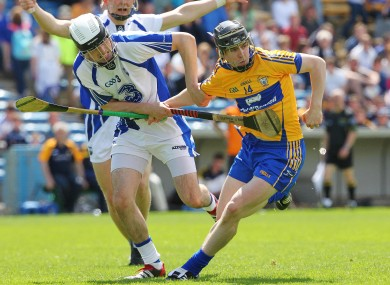 Waterford's Stephen O'Keeffe and Clare's Tony Kelly will be battling again tonight.
