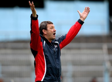 Cork manager Jimmy Barry-Murphy is seeking improvements.