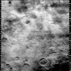 The first image - taken by Mariner 4 - of the Martian surface clearly showing craters on Mars. (Image: NASA)